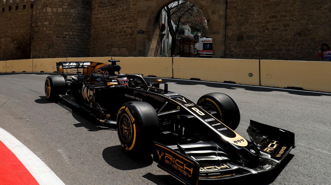 Haas - Formel 1 - GP Aserbaidschan 2019
