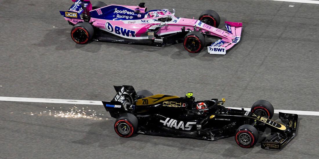 Haas vs. Racing Point - GP Bahrain 2019