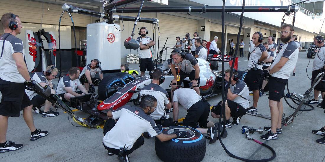 HaasF1 - Formel 1 - GP Japan - Suzuka - Donnerstag - 6.10.2016
