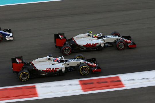 HaasF1 - GP Abu Dhabi 2016