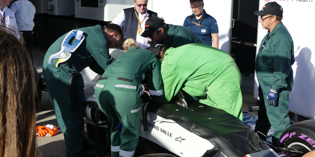 HaasF1 - GP Australien 2018 - Melbourne - Albert Park - Mittwoch - 21.3.2018