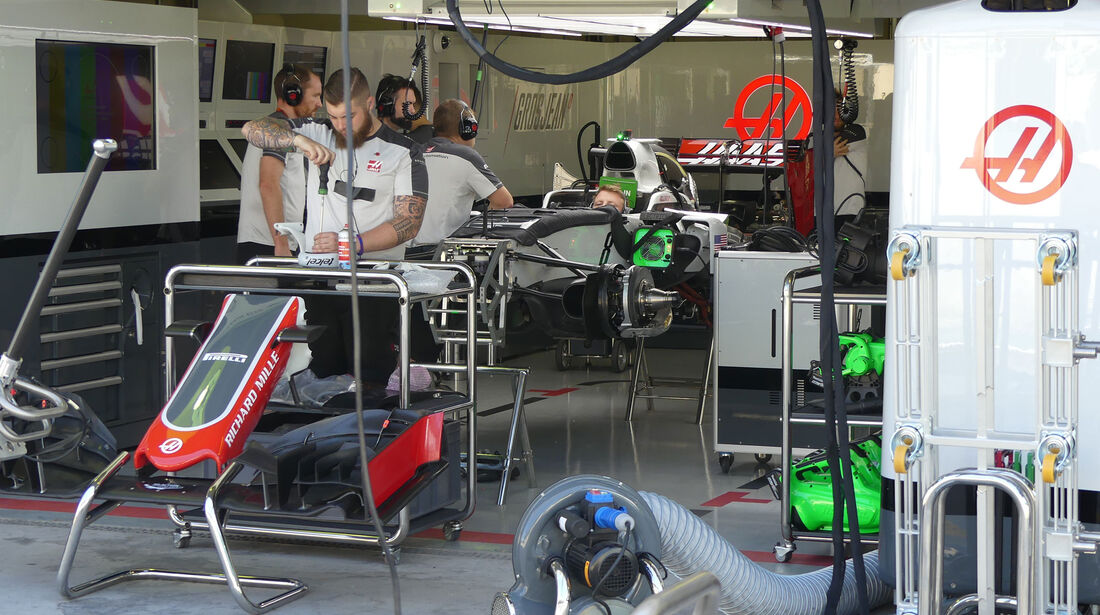 HaasF1 - GP Brasilien - Sao Paulo - Interlagos - Donnerstag - 10.11.2016