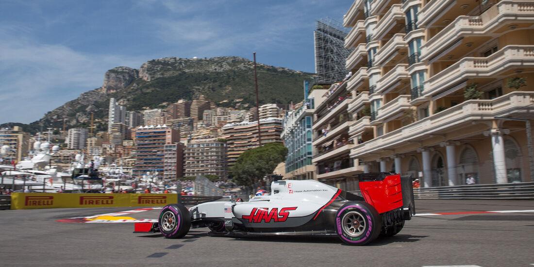 HaasF1 - Logistik - GP Monaco 2016