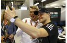 Häkkinen & Bottas - GP Abu Dhabi 2017