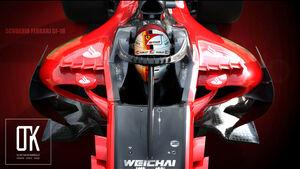 Halo-Studie - Ferrari - 2017