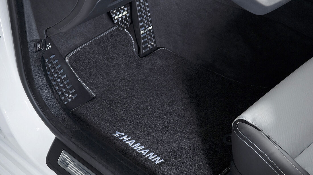 Hamann BMW M5, Pedale, Fußmatte