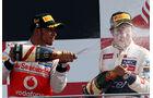 Hamilon & Perez - GP Italien 2012