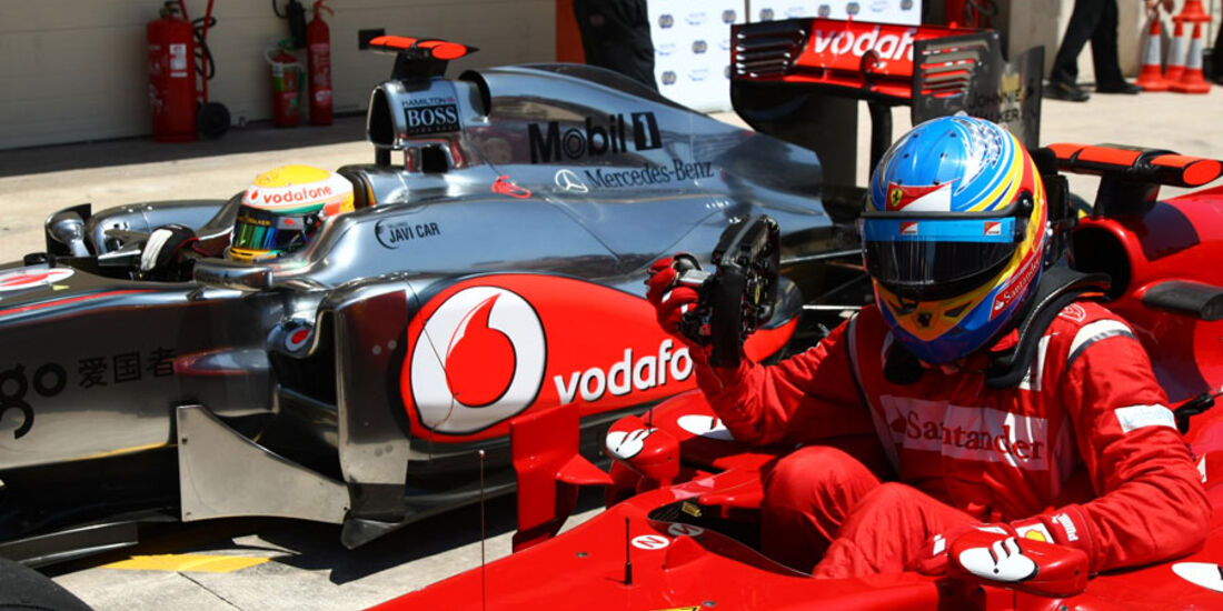Hamilton & Alonso - GP Europa - Qualifying - 25. Juni 2011
