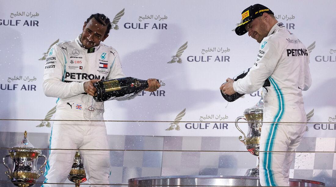 Hamilton & Bottas - Formel 1 - GP Bahrain 2019