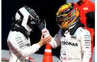 Hamilton & Bottas - GP Italien 2017
