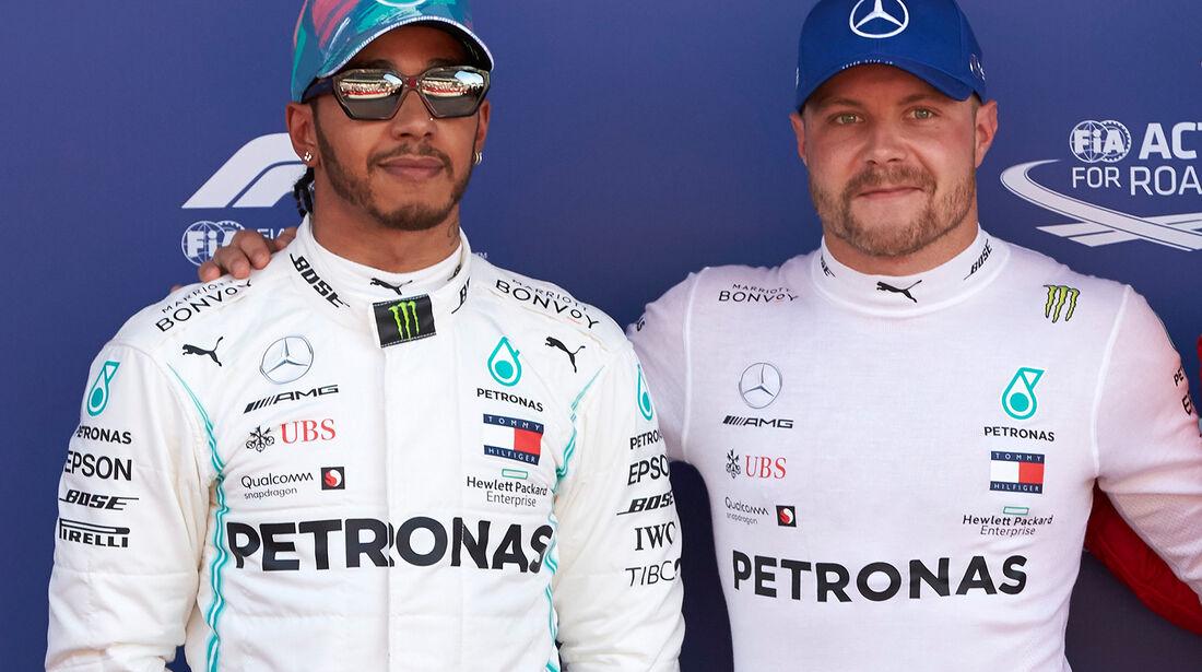 Hamilton & Bottas - GP Spanien 2019