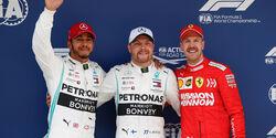 Hamilton - Bottas - Vettel - GP China - Shanghai - Samstag - 13.4.2019