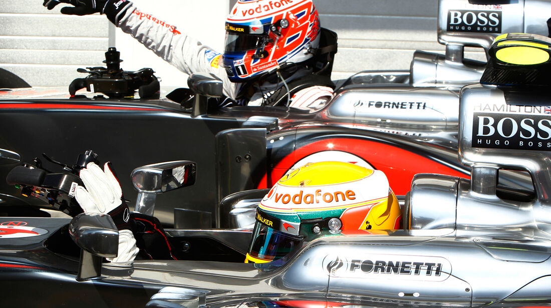 Hamilton & Button GP Ungarn 2012