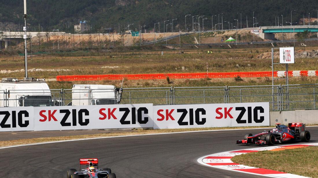 Hamilton & Button - McLaren - Formel 1 - GP Korea - 12. Oktober 2012