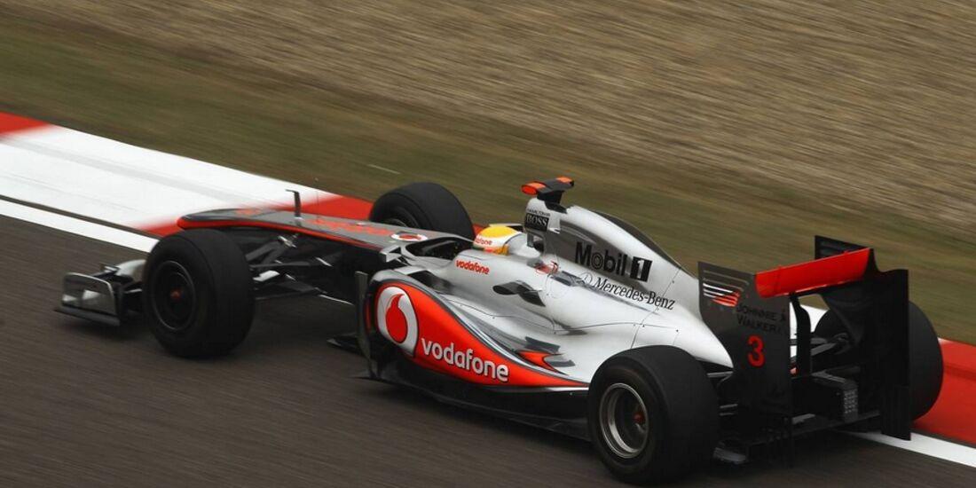 Hamilton GP China 2011 Formel 1
