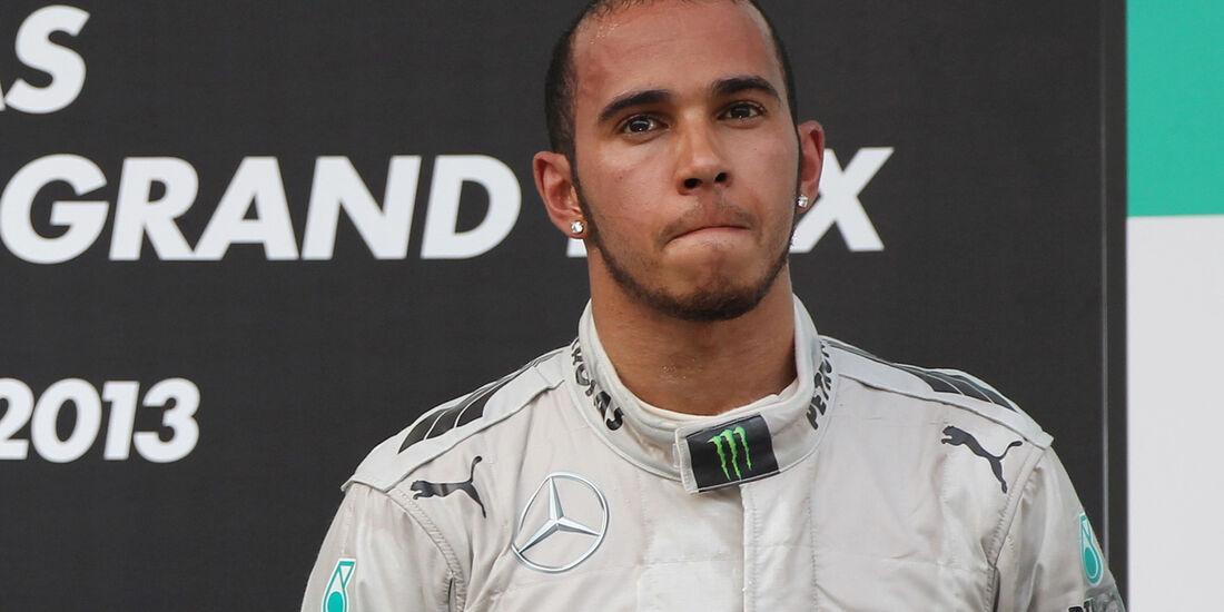 Hamilton GP Malaysia 2013