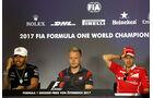 Hamilton - Magnussen - Vettel - GP Österreich 2017 - Spielberg - Formel 1 - Donnerstag - 6.7.2017