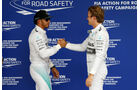 Hamilton & Rosberg - GP Brasilien 2014