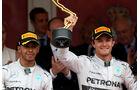 Hamilton & Rosberg - GP Monaco 2014