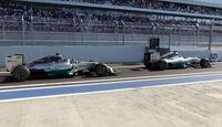 Hamilton & Rosberg - GP Russland 2014