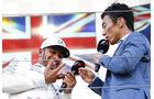 Hamilton & Sato - GP Italien 2017