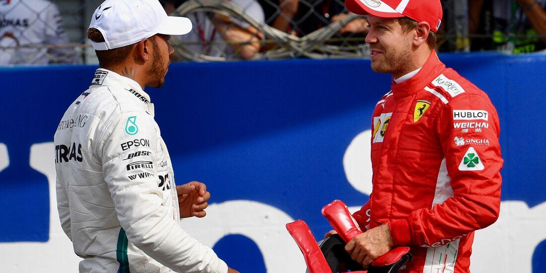 Hamilton & Vettel - GP Italien 2018