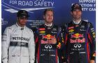 Hamilton, Vettel & Webber - Formel 1 - GP Korea - 5. Oktober 2013