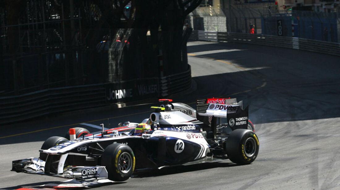 Hamilton vs. Maldonado GP Monaco 2011