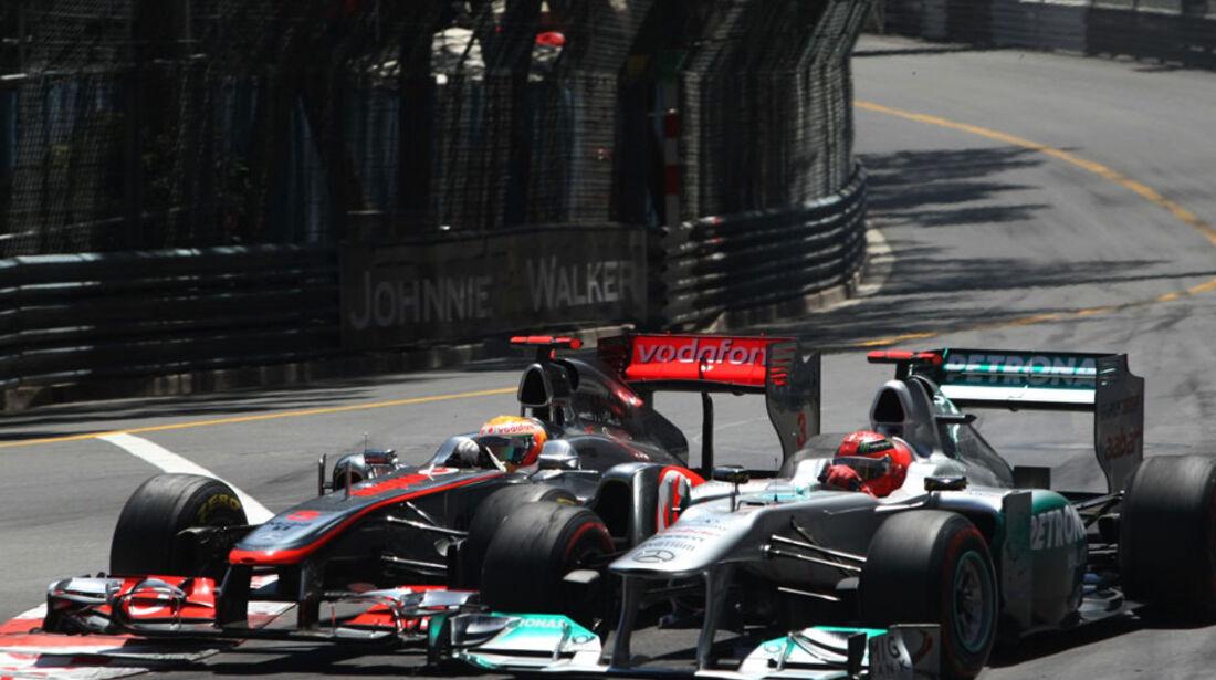 Hamilton vs. Schumi GP Monaco 2011