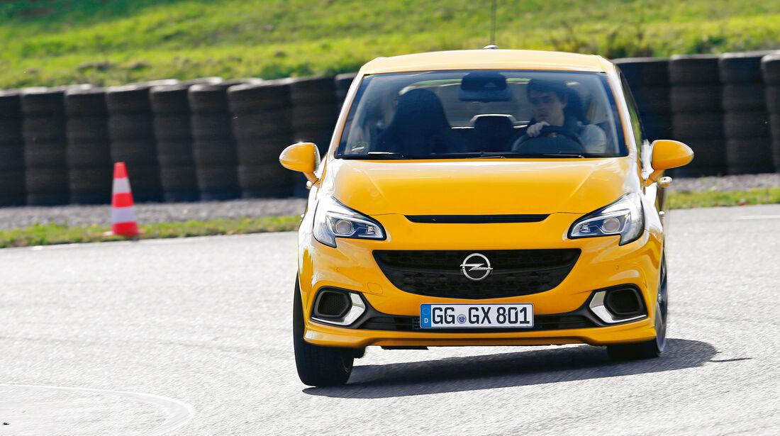 Handling-Check, Opel Corsa OPC
