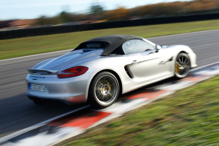 porsche boxster spyder im supertest auto motor und sport. Black Bedroom Furniture Sets. Home Design Ideas