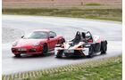 Handlingvergleich, KTM X-Bow R, Porsche Cayman R