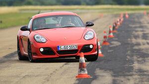 Handlingvergleich, Porsche Cayman R