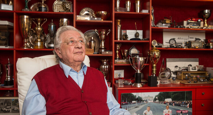 Hans Herrmann - Rennfahrer