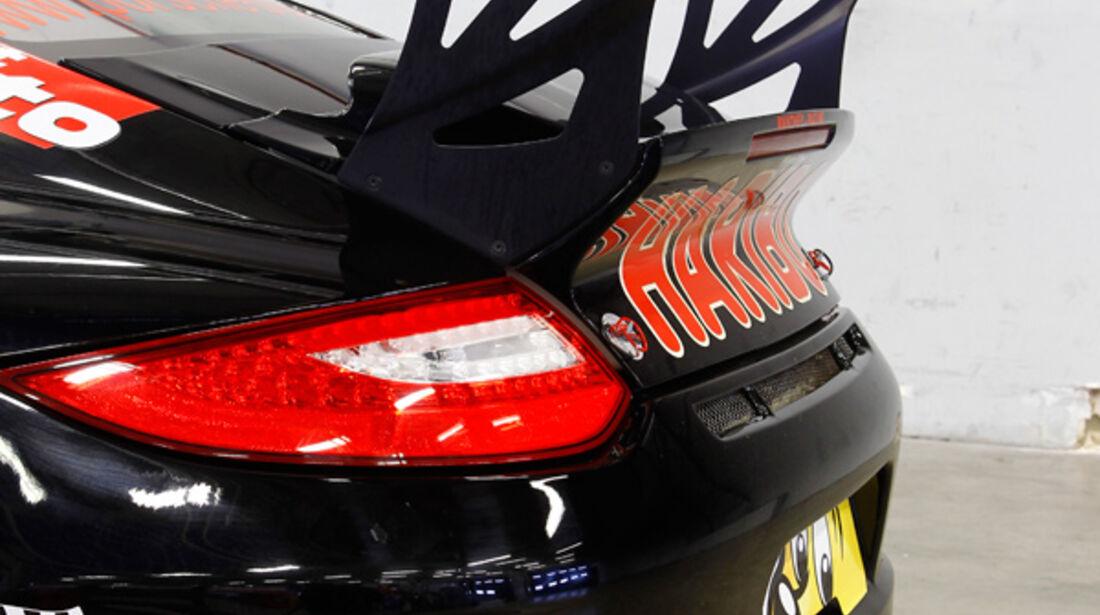 Haribo-Porsche 911 GT3 R Heckspoiler