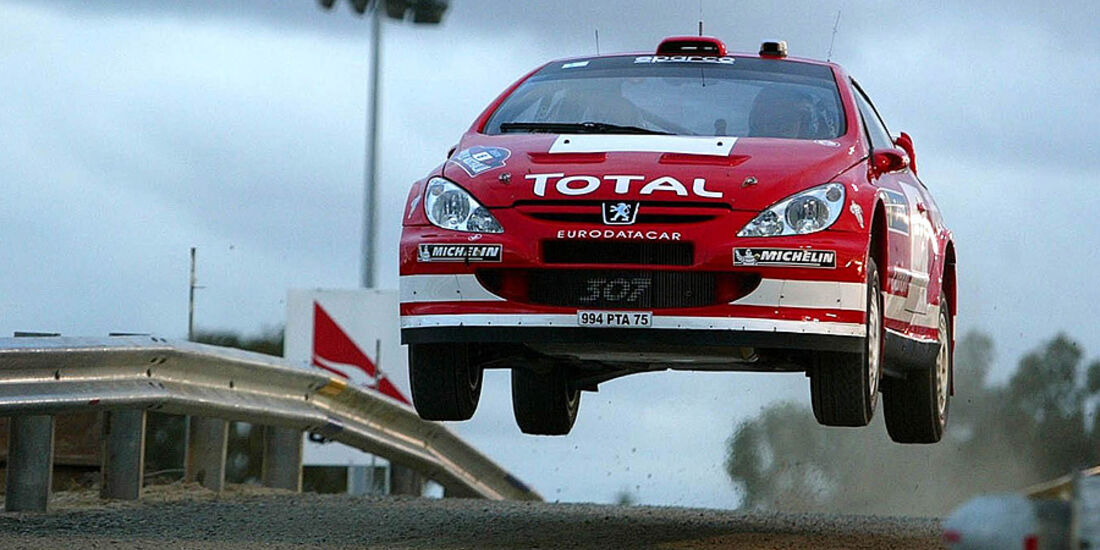 Harri Rovanperä, Rallye Australien 2004, Rallye-Sprünge