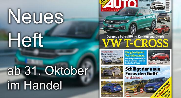 Heftvorschau Auto Straßenverkehr Heft 24/2018