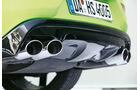 Heico-Volvo V40 T5 HPC, Auspuff, Endrohr