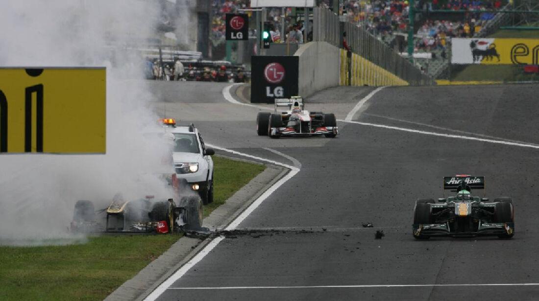Heidfeld - GP Ungarn - Formel 1 - 31.7.2011 - Highlights