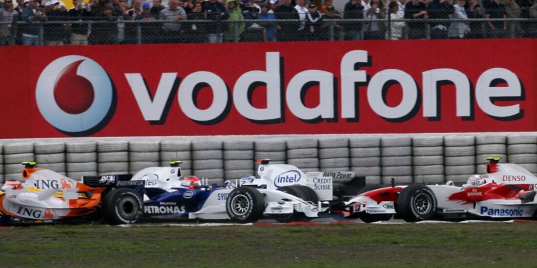 Heidfeld vs. Kubica