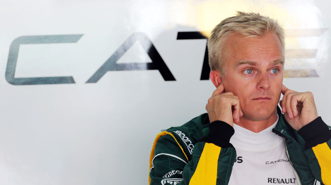 Heikki Kovalainen - Caterham - Formel 1 - GP Bahrain - 19. April 2013