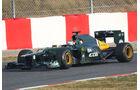 Heikki Kovalainen - Caterham - Formel 1-Test Barcelona - 3. März 2012