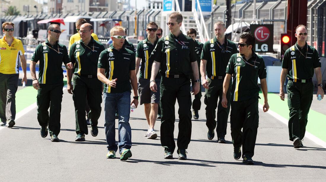 Heikki Kovalainen - Caterham - GP Europa - Valencia - 21. Juni 2012