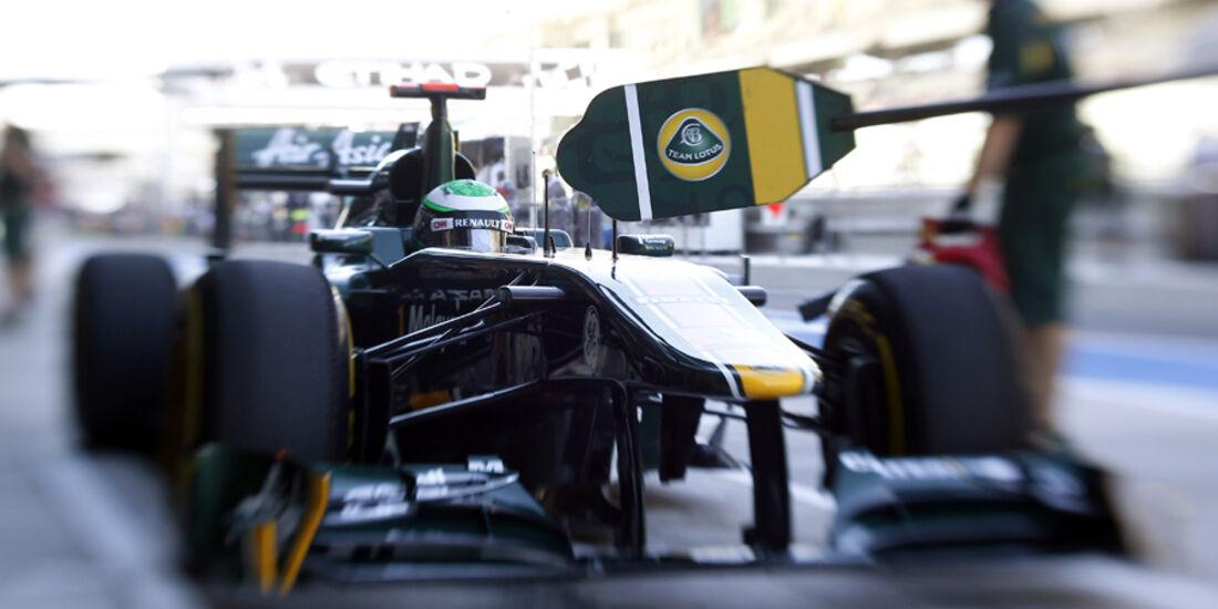 Heikki Kovalainen GP Abu Dhabi 2011