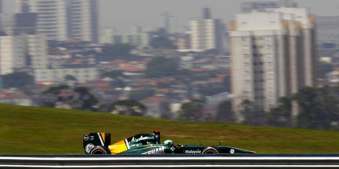 Heikki Kovalainen GP Brasilien 2011v