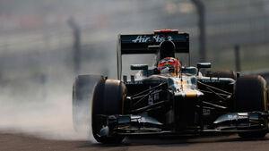 Heikki Kovalainen GP Indien 2012