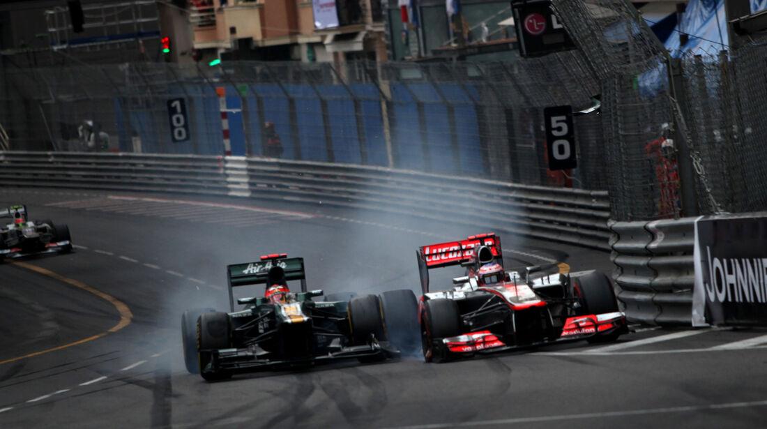 Heikki Kovalainen - GP Monaco 2012