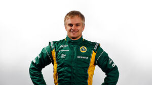 Heikki Kovalainen Porträt Caterham