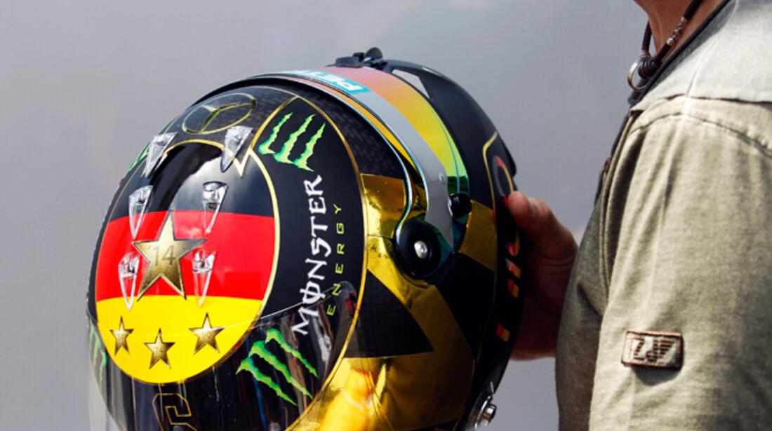 Helm - Nico Rosberg - Formel 1 - GP Deutschland - Hockenheim - 17. Juli 2014