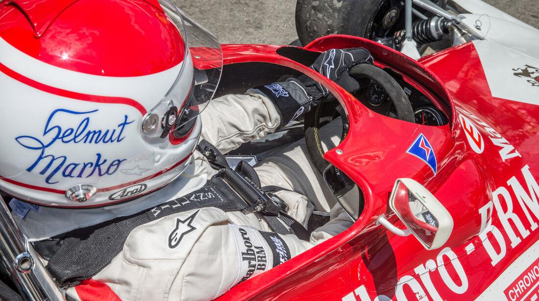Helmut Marko - BRM 180 - GP-Legenden - GP Österreich 2014